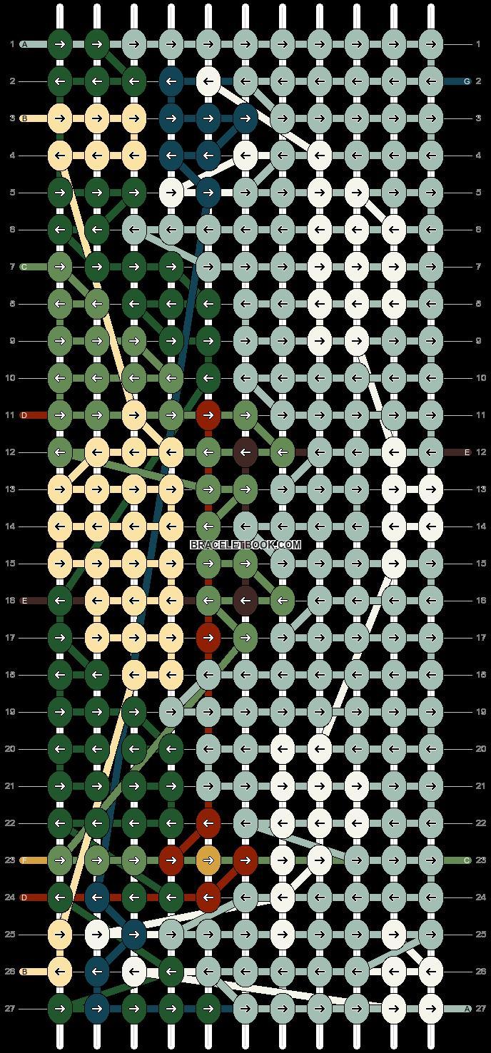 Alpha pattern #76858 pattern