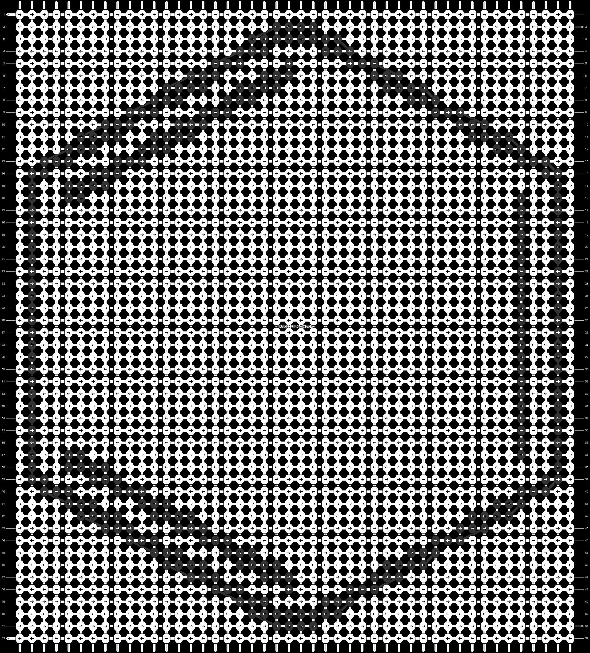 Alpha pattern #76867 pattern