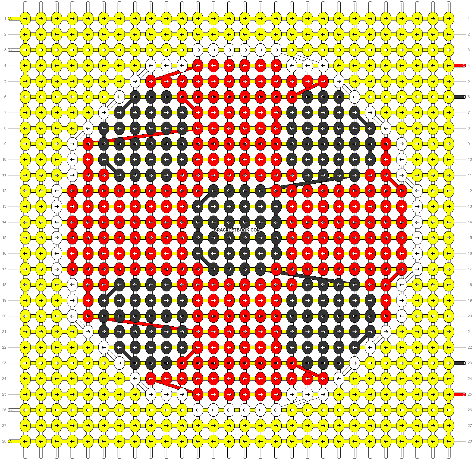 Alpha pattern #76900 pattern