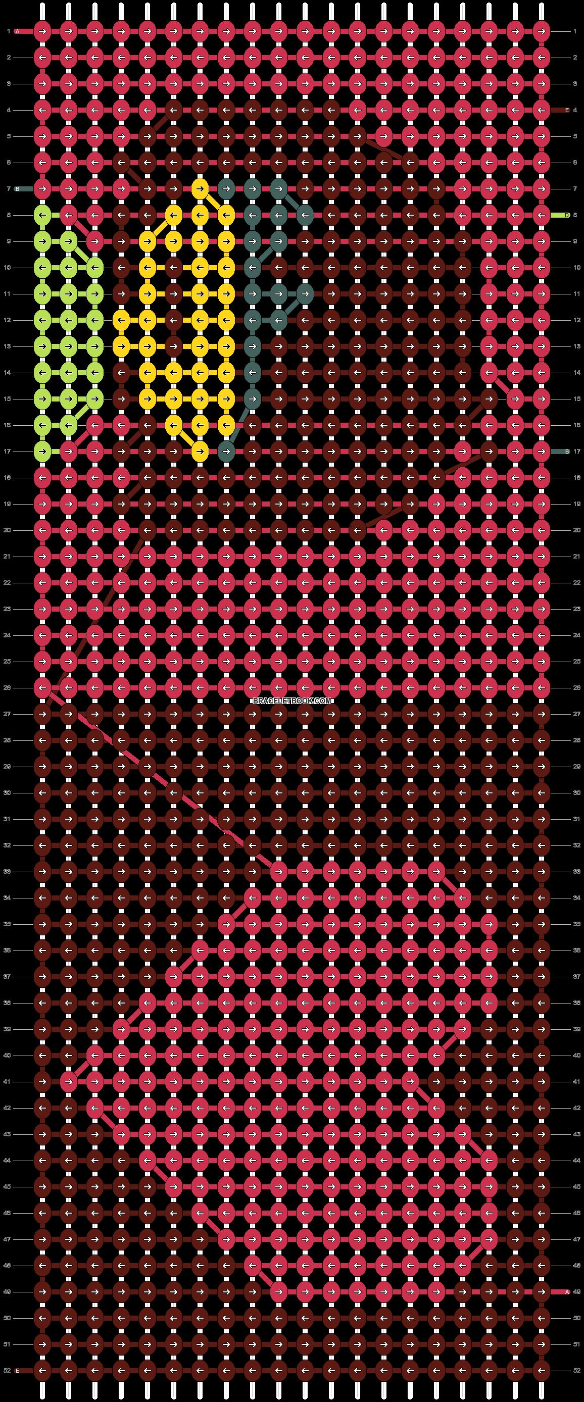 Alpha pattern #76936 pattern