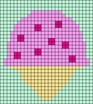 Alpha pattern #76963