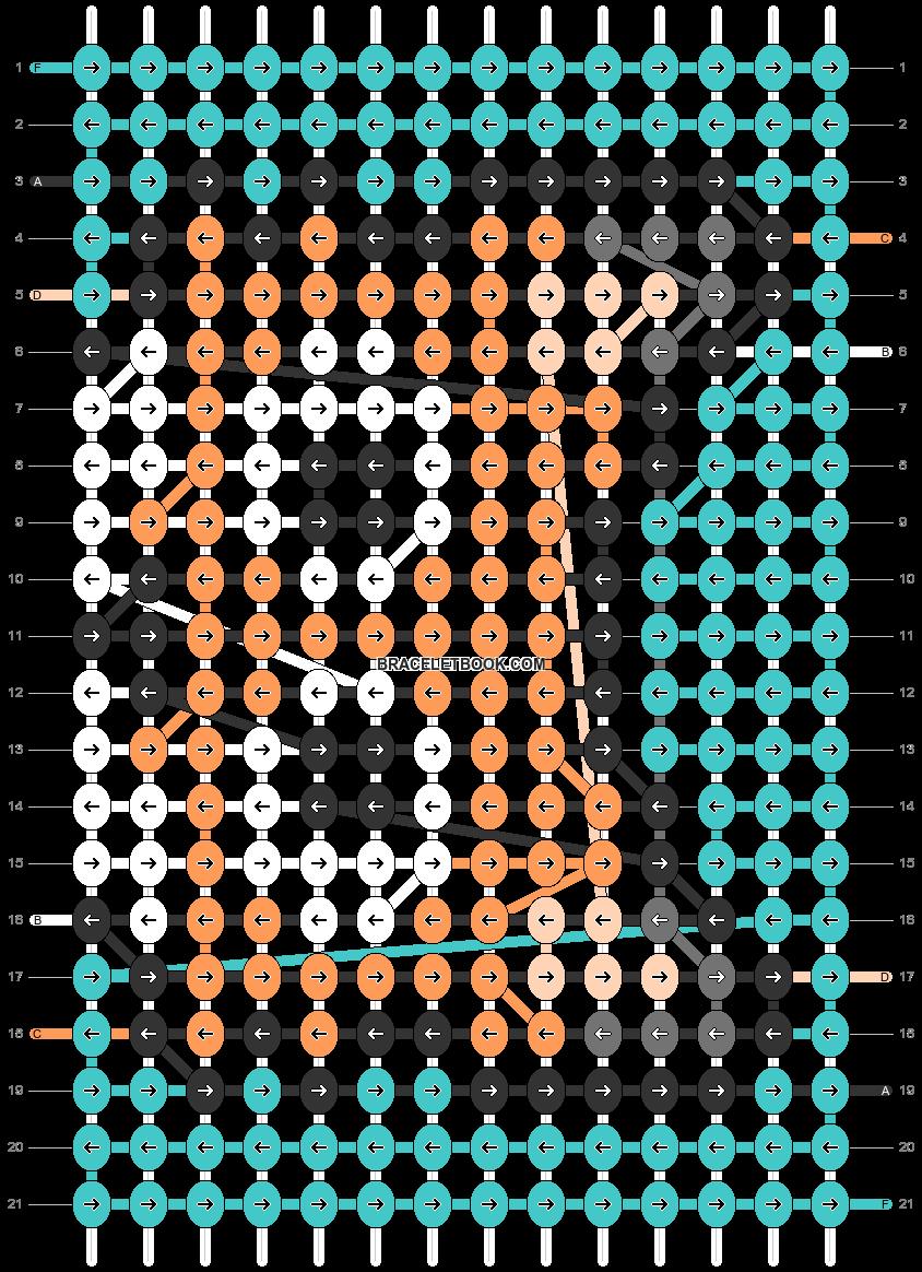 Alpha pattern #76980 pattern