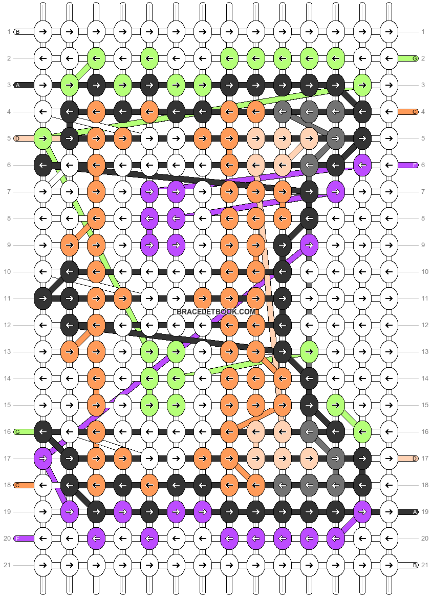 Alpha pattern #76981 pattern