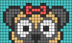Alpha pattern #76985