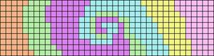 Alpha pattern #76986