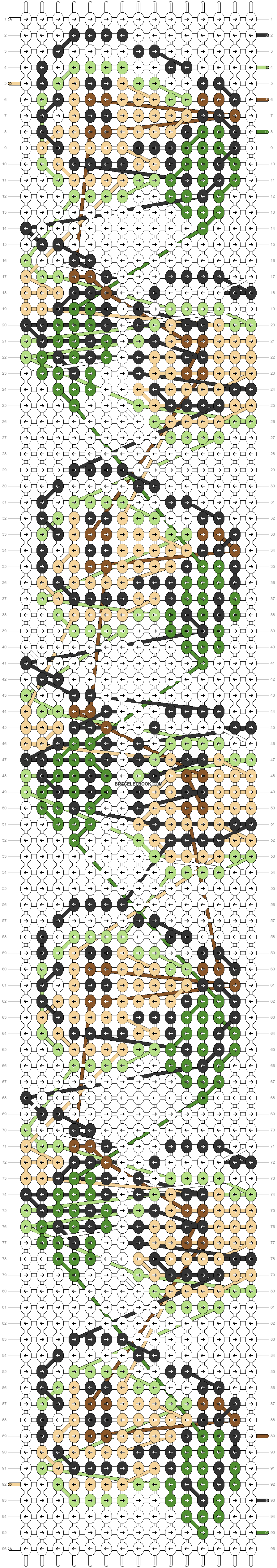 Alpha pattern #76993 pattern