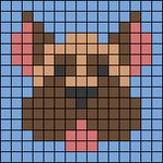 Alpha pattern #76998
