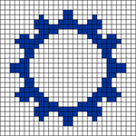 Alpha pattern #77002