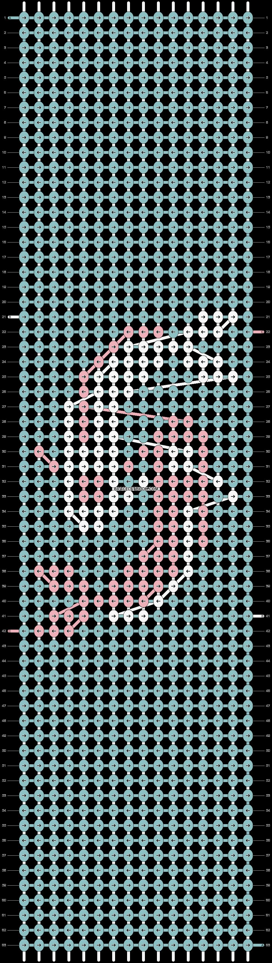 Alpha pattern #77016 pattern