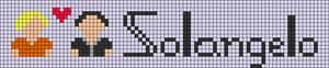 Alpha pattern #77100