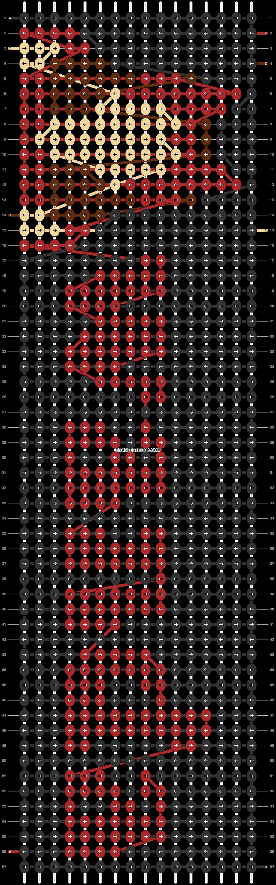 Alpha pattern #77116 pattern
