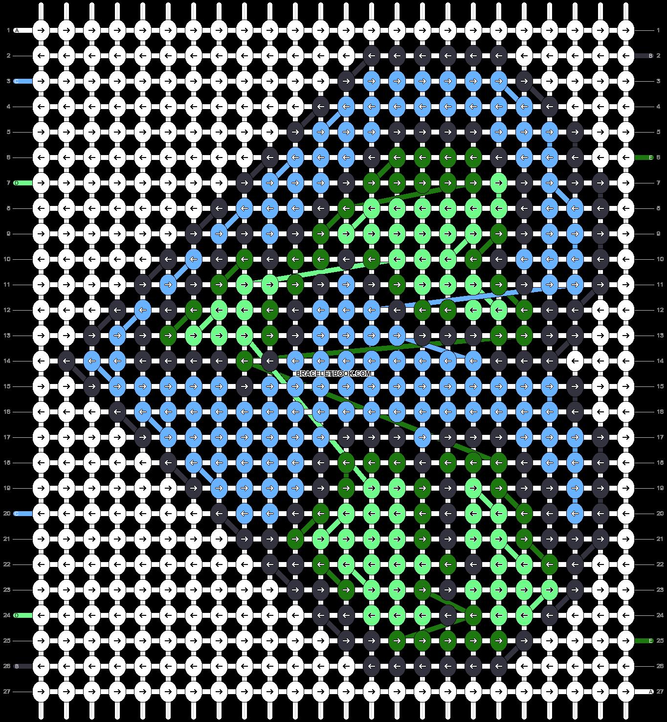 Alpha pattern #77133 pattern