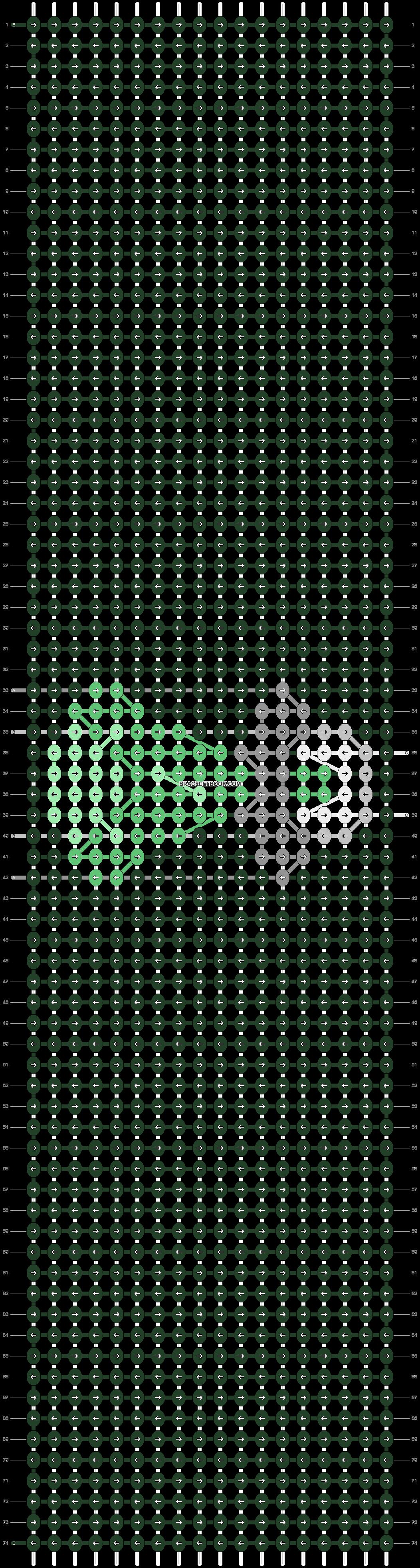 Alpha pattern #77152 pattern