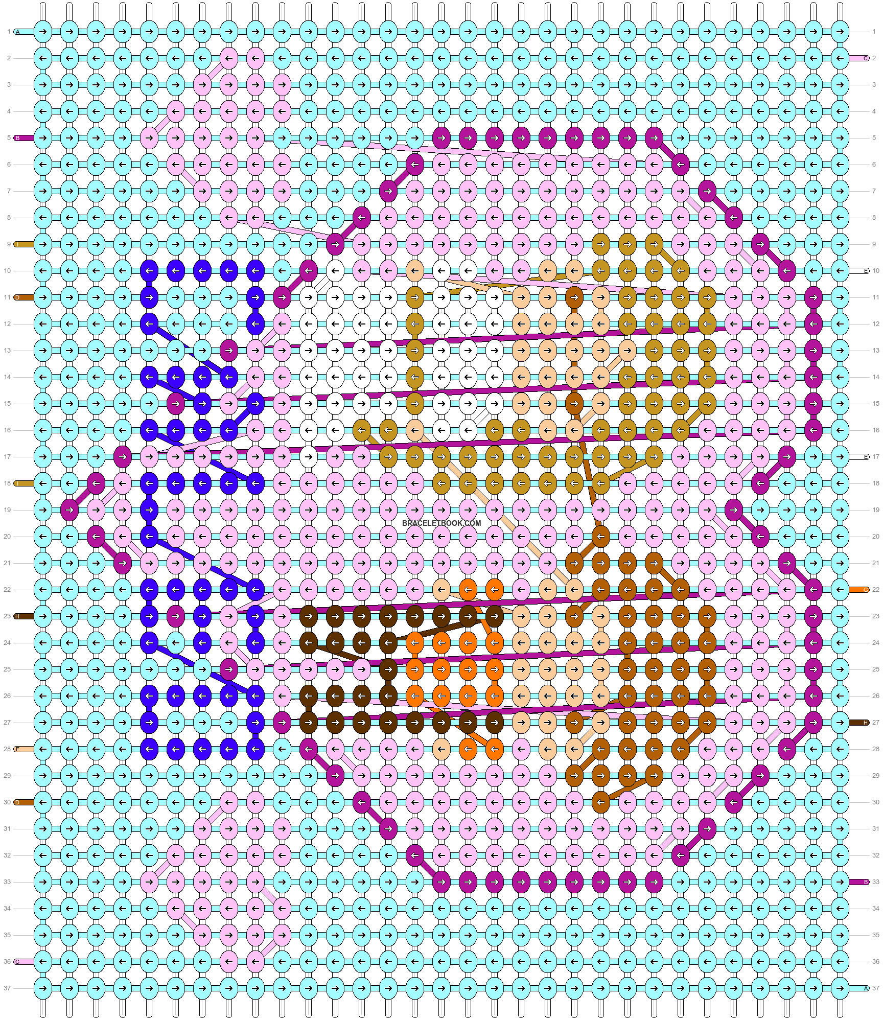 Alpha pattern #77166 pattern