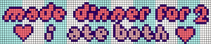Alpha pattern #77223
