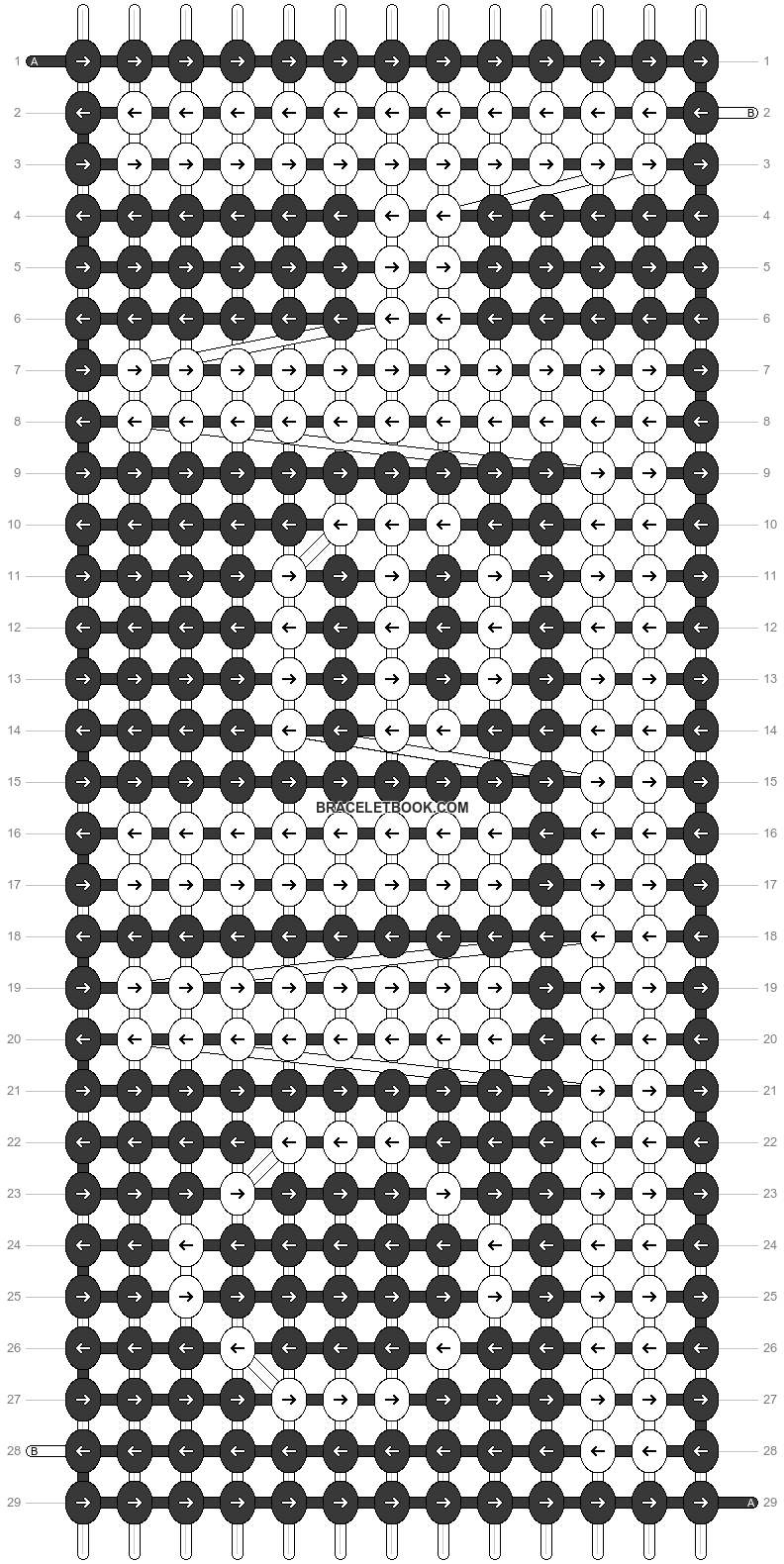 Alpha pattern #77267 pattern