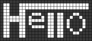 Alpha pattern #77267