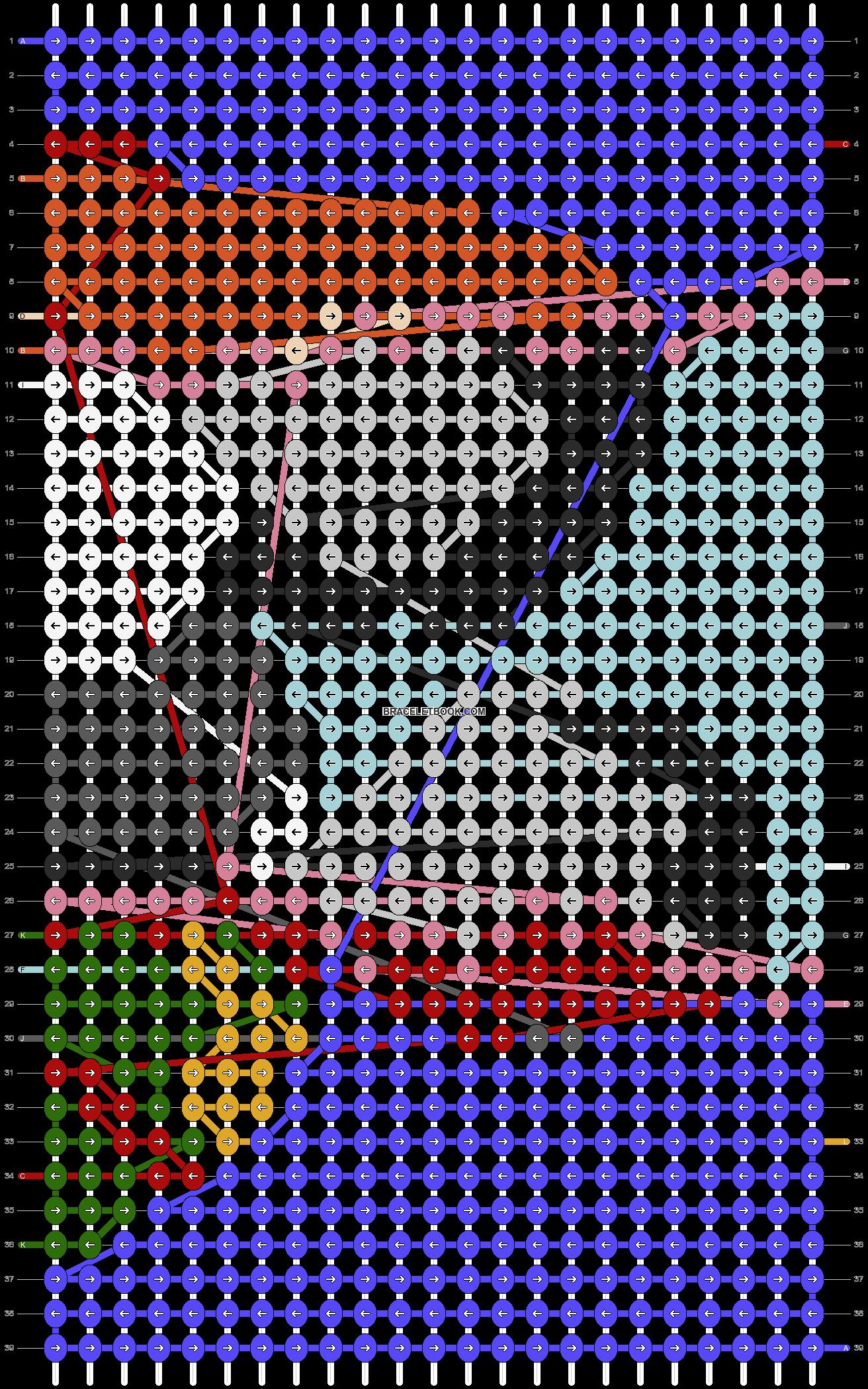 Alpha pattern #77333 pattern