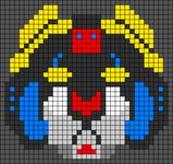 Alpha pattern #77339