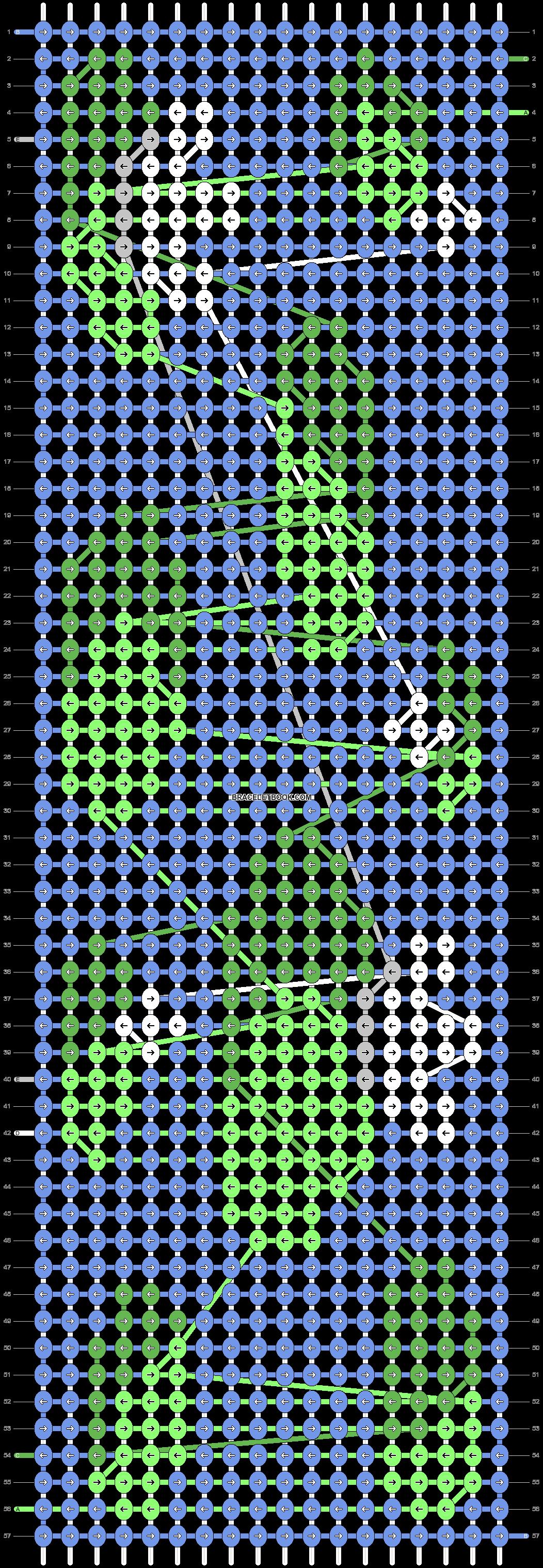 Alpha pattern #77348 pattern