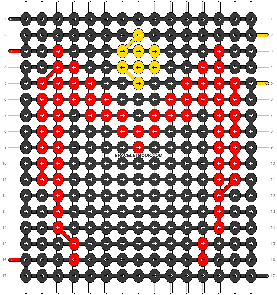 Alpha pattern #77356 pattern