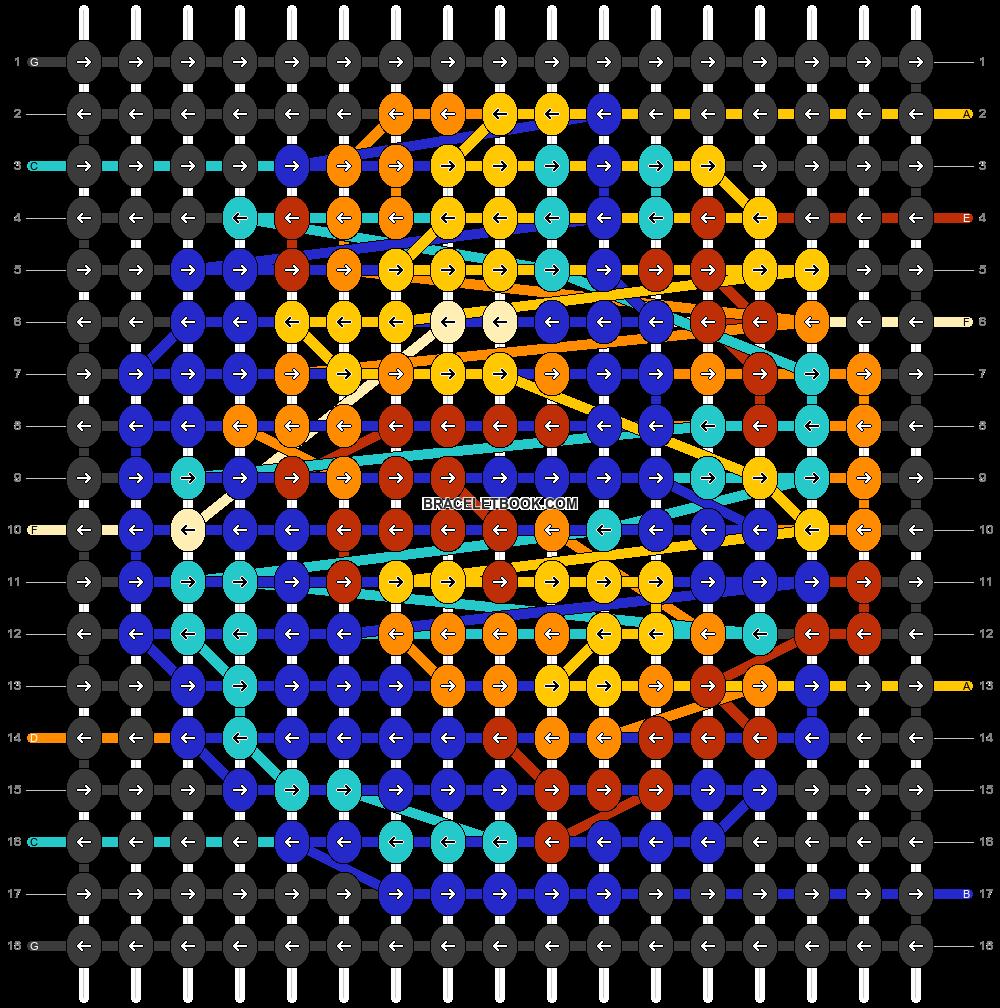 Alpha pattern #77442 pattern