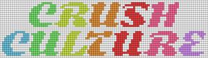 Alpha pattern #77458