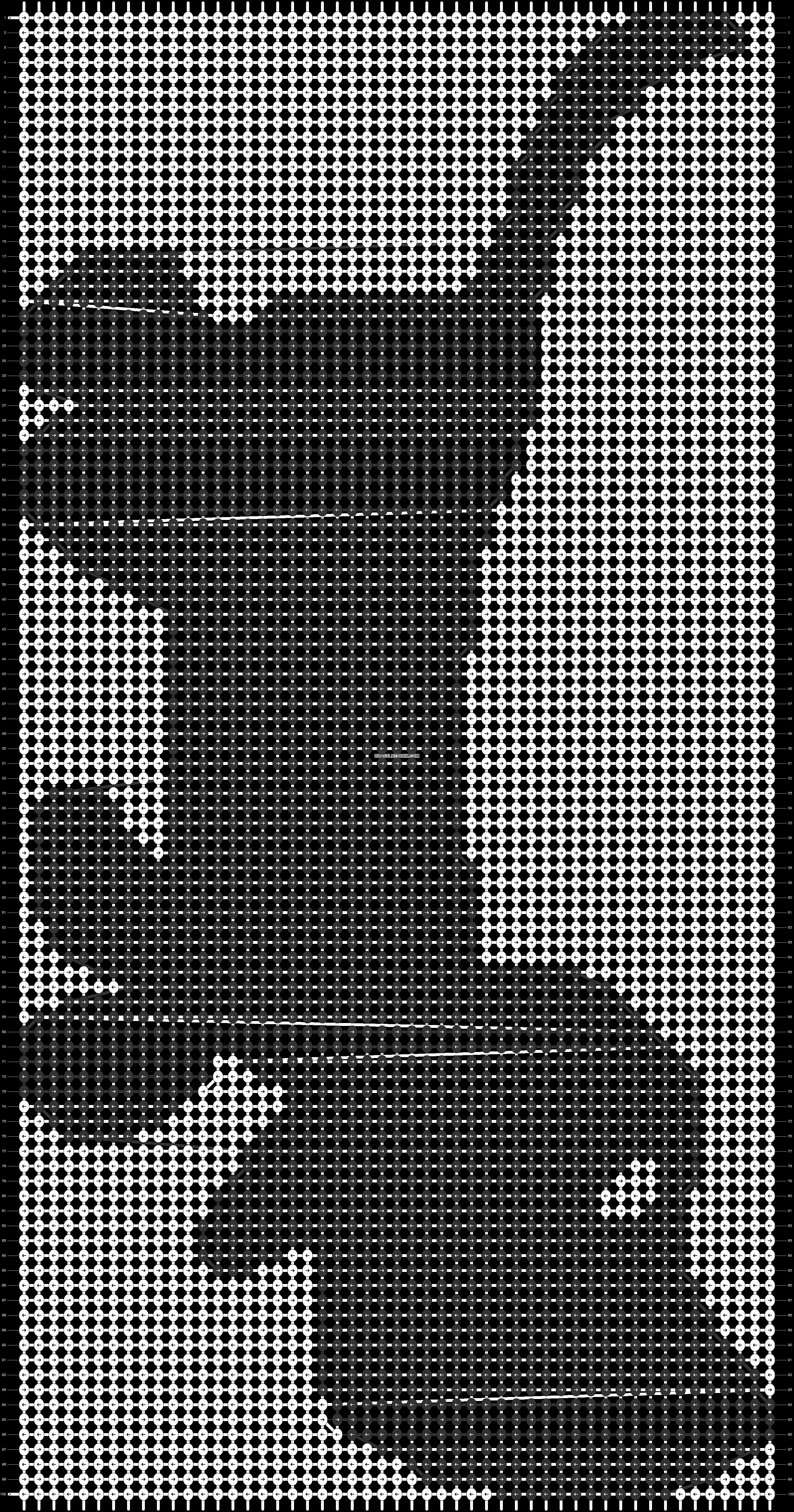 Alpha pattern #77486 pattern