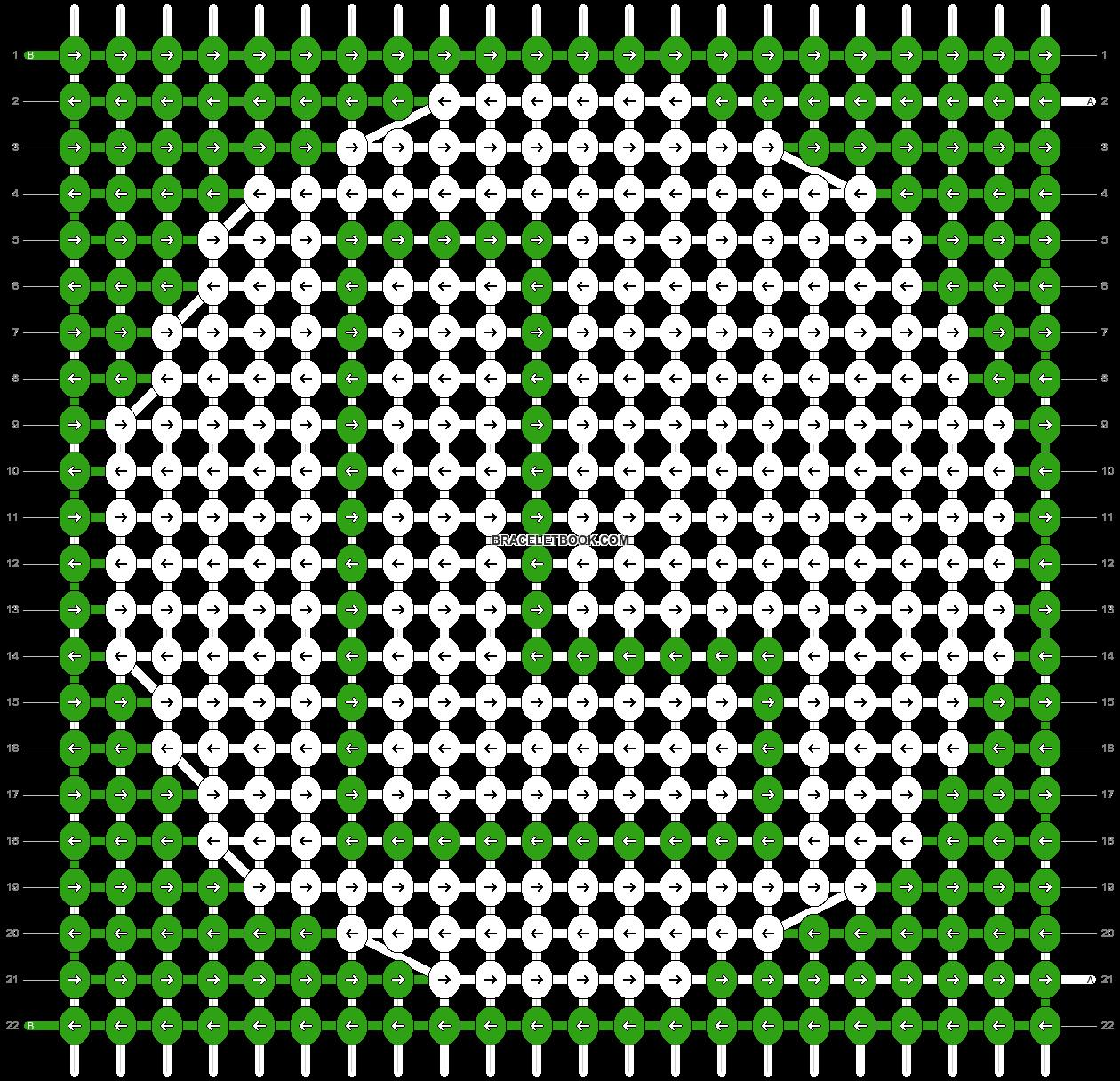 Alpha pattern #77489 pattern