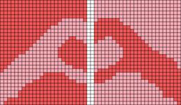 Alpha pattern #77500