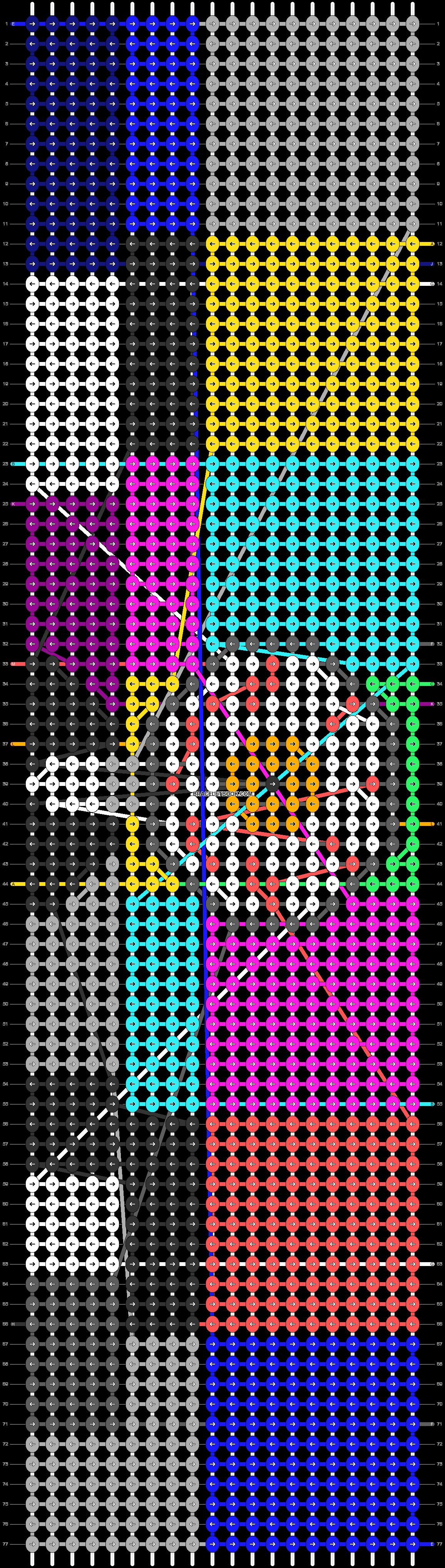 Alpha pattern #77552 pattern