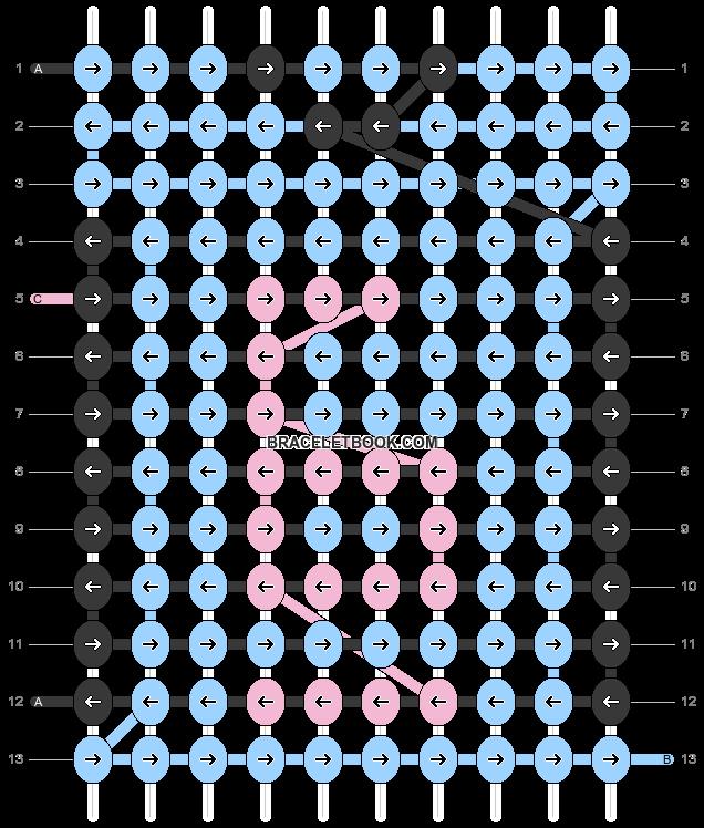 Alpha pattern #77628 pattern
