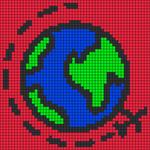 Alpha pattern #77656
