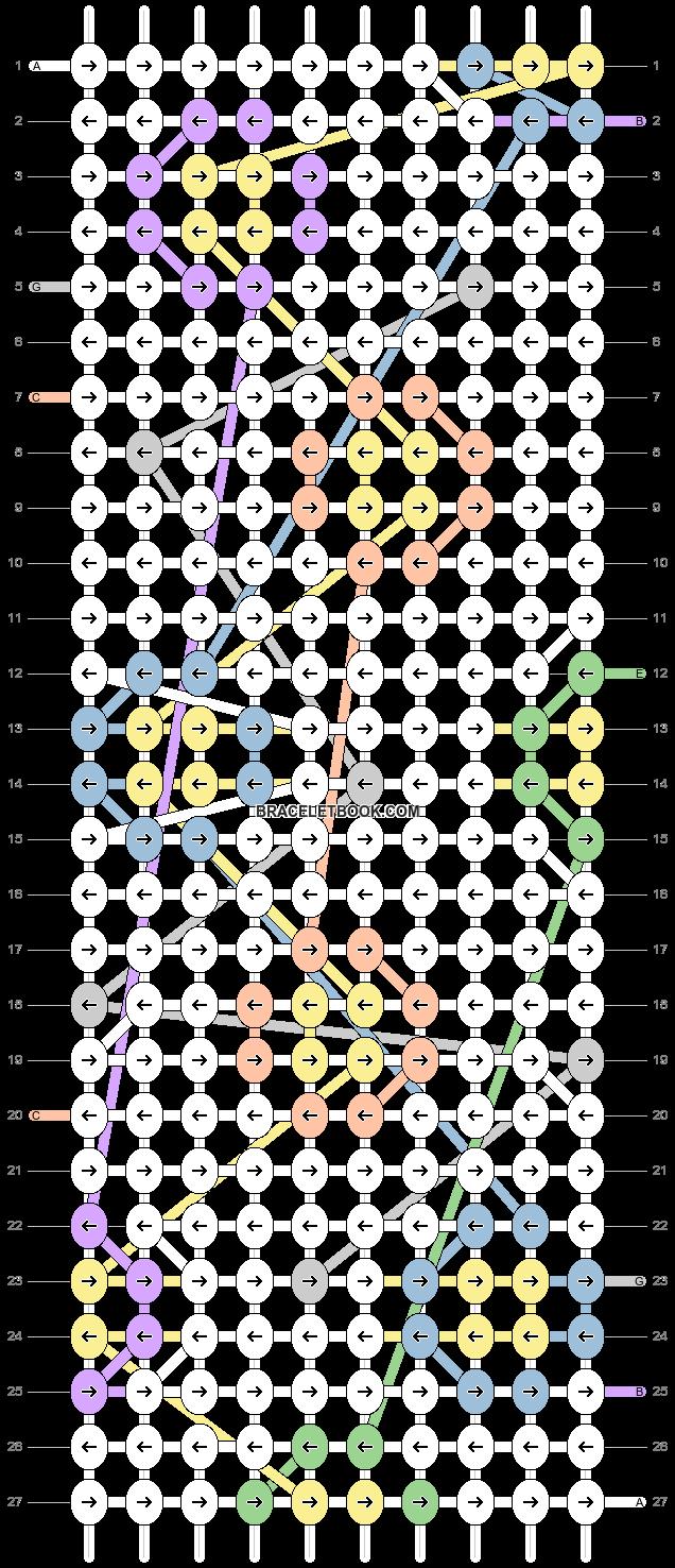 Alpha pattern #77681 pattern