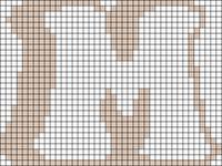 Alpha pattern #77707