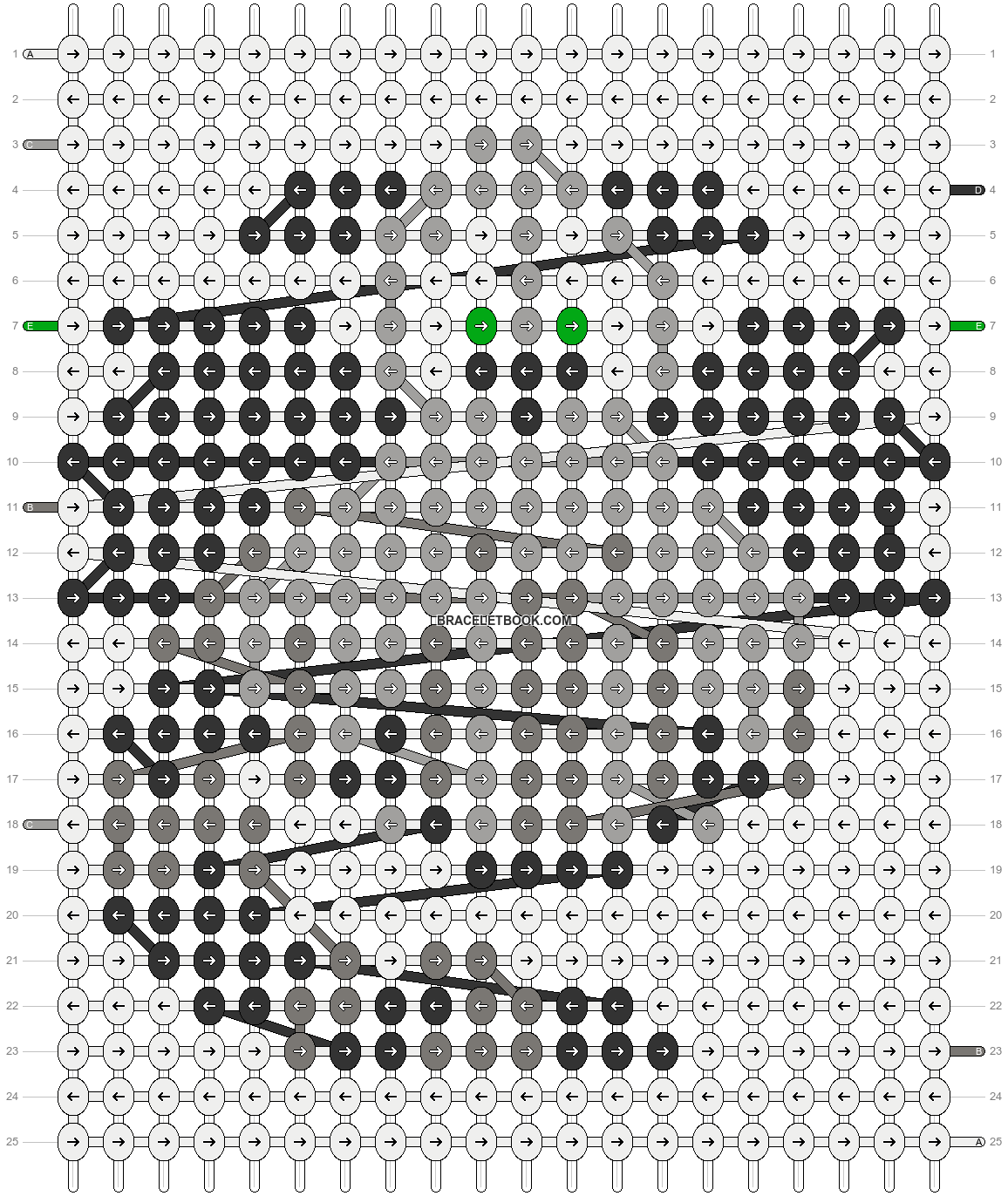 Alpha pattern #77718 pattern