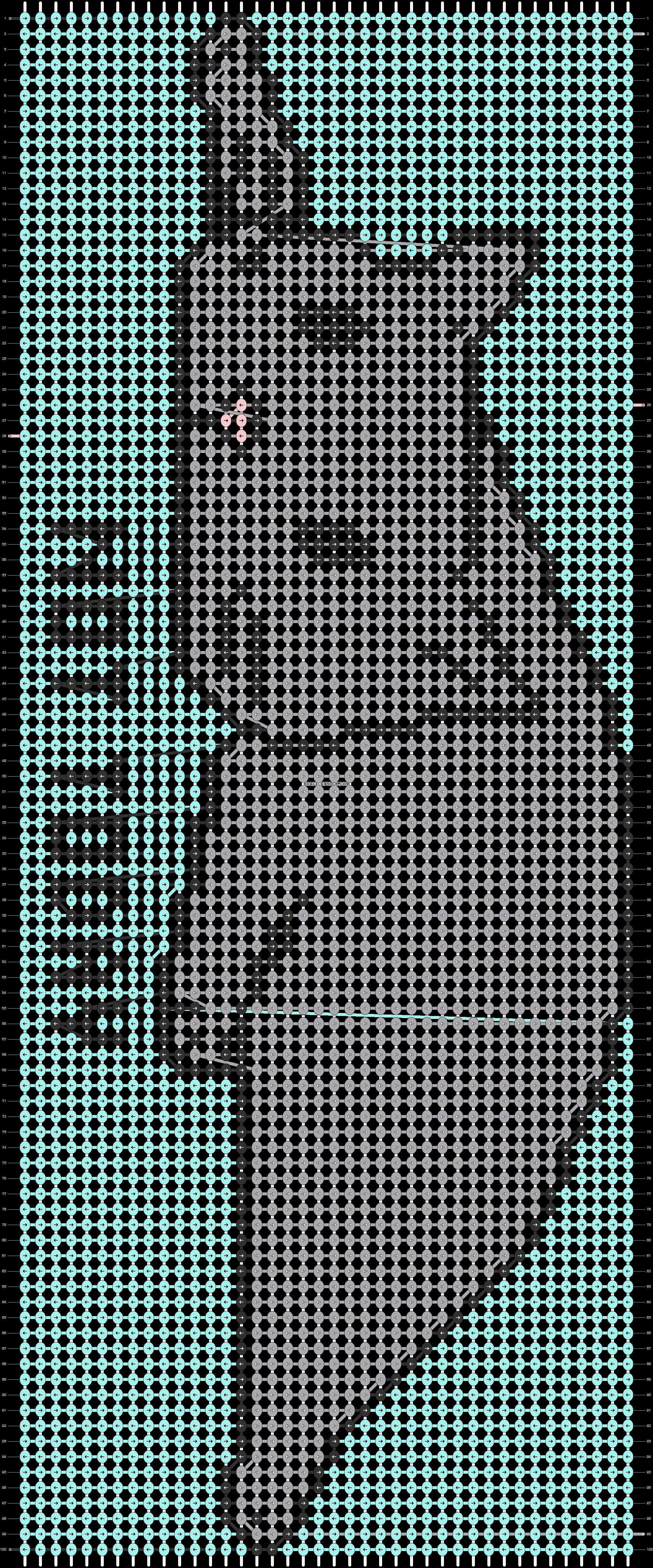 Alpha pattern #77753 pattern