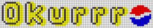Alpha pattern #77781