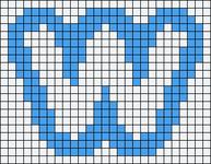 Alpha pattern #77796