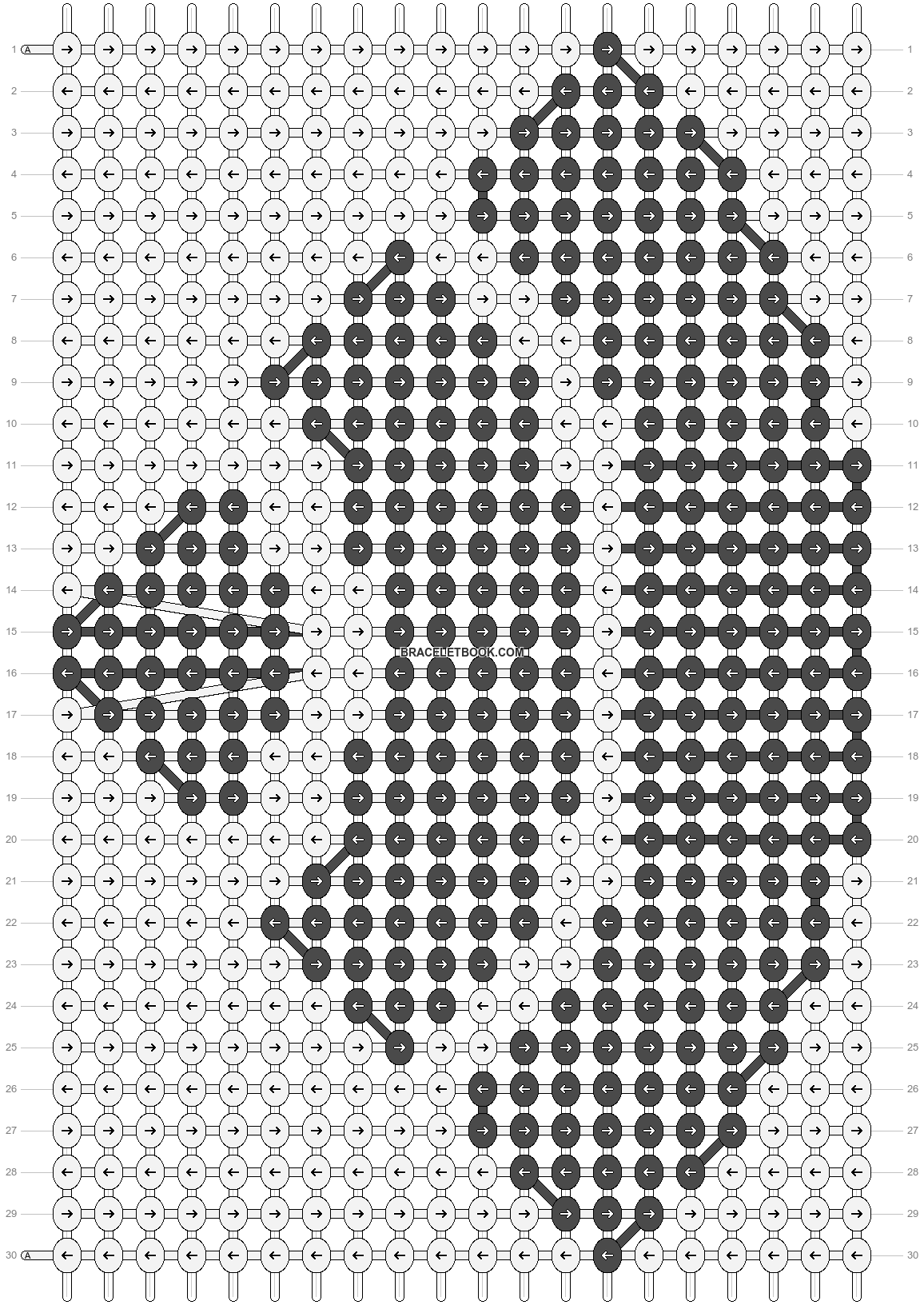 Alpha pattern #77800 pattern