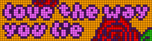Alpha pattern #77802