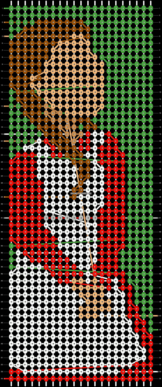 Alpha pattern #77809 pattern