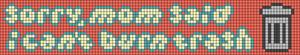 Alpha pattern #77857