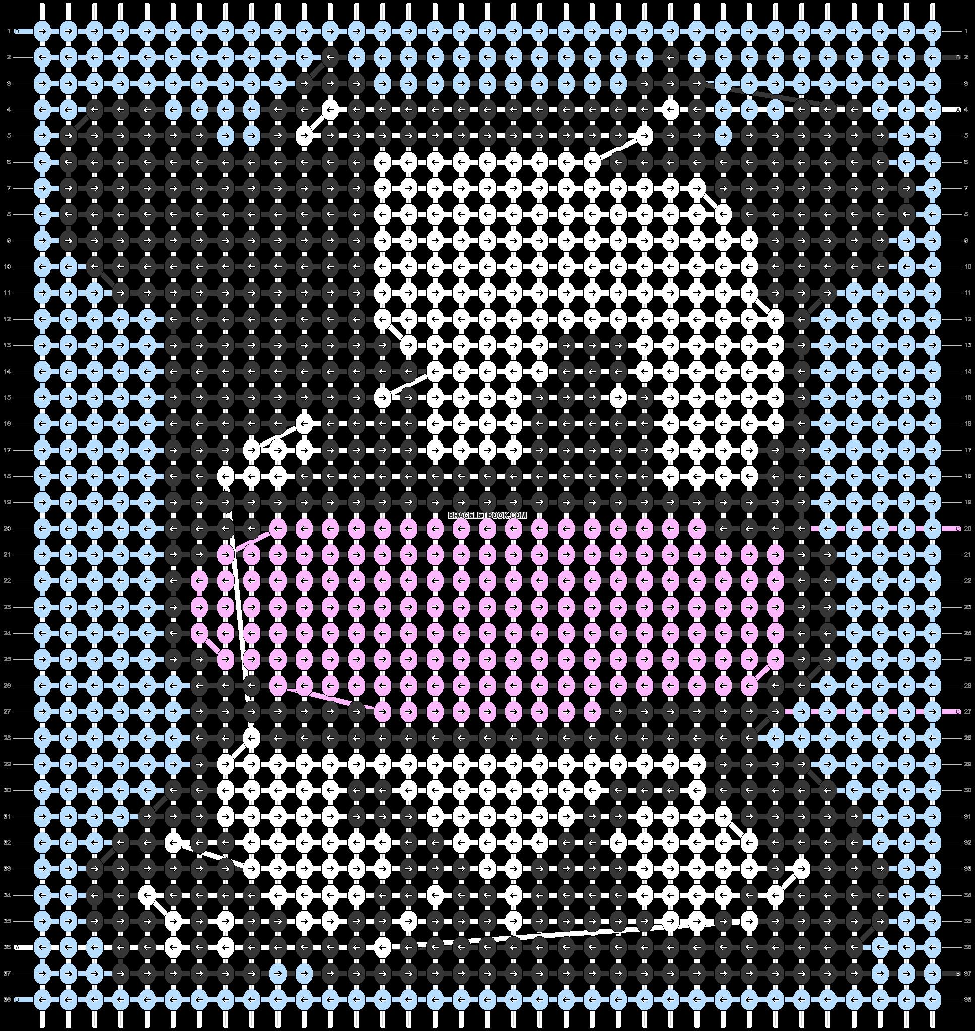 Alpha pattern #77885 pattern