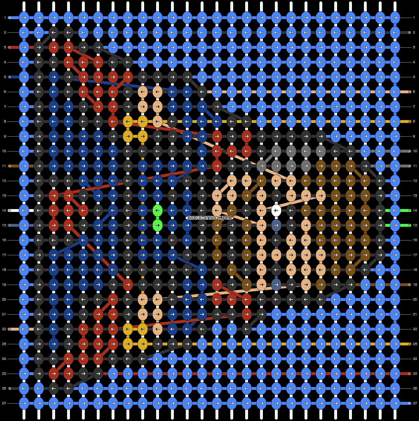Alpha pattern #77947 pattern