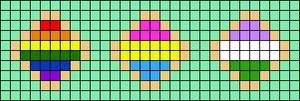 Alpha pattern #78001