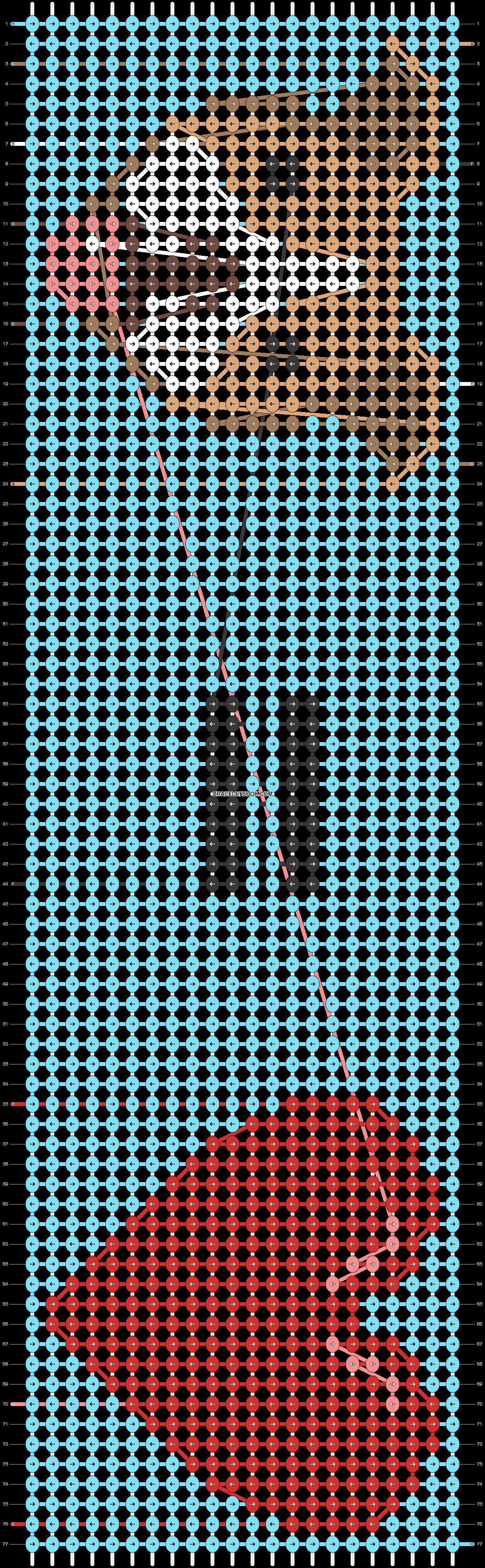 Alpha pattern #78029 pattern
