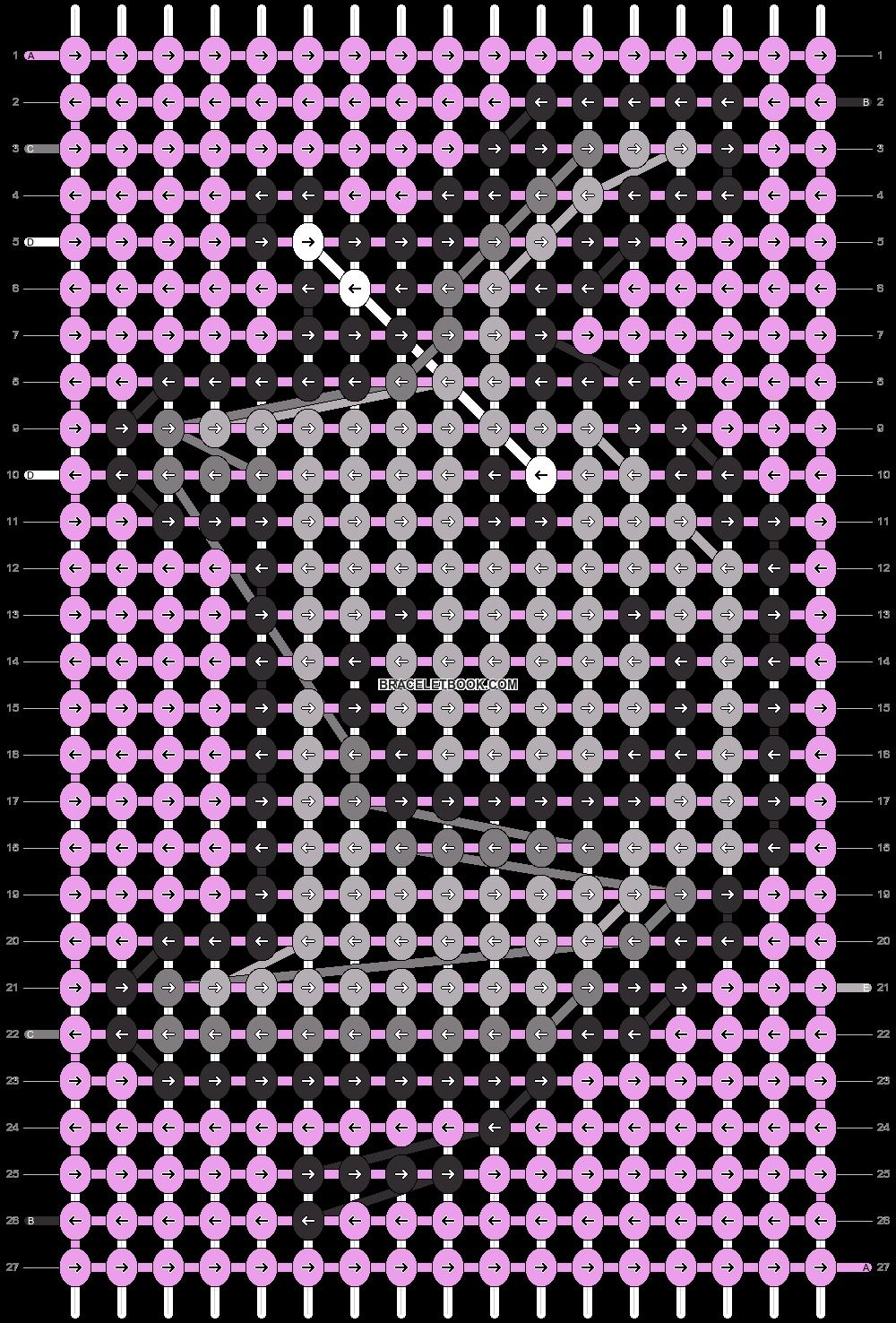 Alpha pattern #78067 pattern