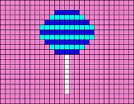 Alpha pattern #78097