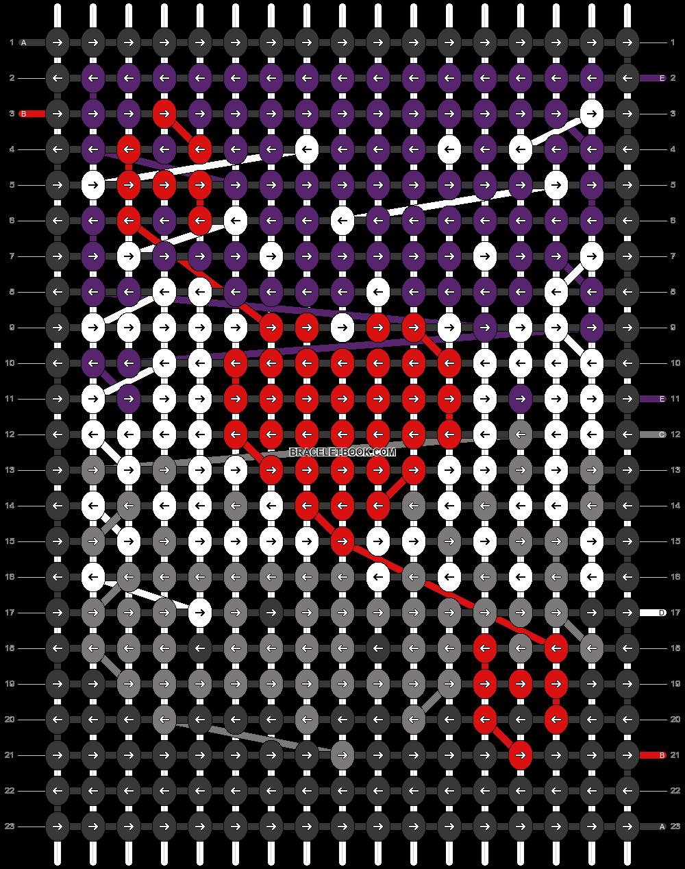 Alpha pattern #78120 pattern